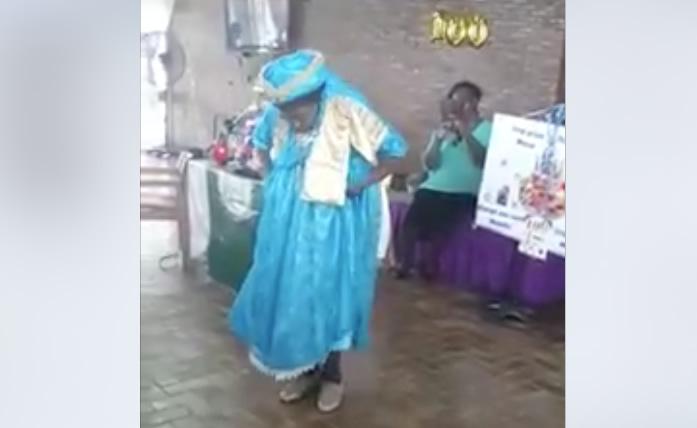 Filmpje Oma In Suriname Viert 100ste Verjaardag Al Dansend Waterkant