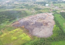 Overheid Suriname: brand Ornamibo onder controle - scholen weer open