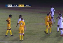 Suriname wint overtuigend van British Virgin Islands met 5-0
