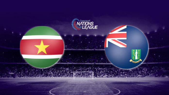 Suriname speelt eerste Concacaf thuiswedstrijd tegen British Virgin Islands