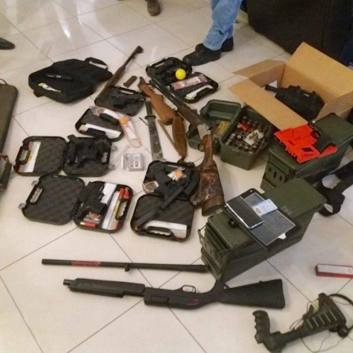 Verdachte met zware wapens aangehouden in Suriname
