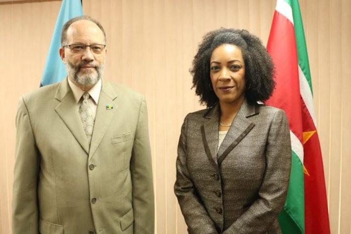 Chantal Elsenhout nieuwe CARICOM ambassadeur van Suriname