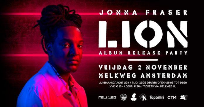 Vanavond album releaseparty van Jonna Fraser in Melkweg Amsterdam