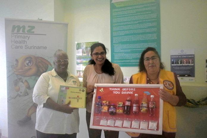 Medische Zending en Lions Club Paramaribo voeren 'Diabetes project' uit in Suriname
