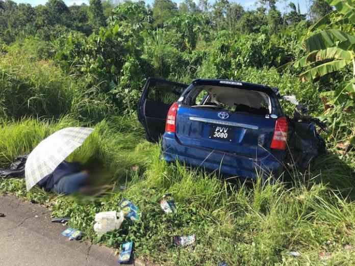Doden bij ongeluk tussen truck en personen auto in Saramacca