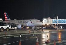 American Airlines maakt inaugurele vlucht naar buurland Guyana