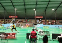 Internationaal badminton toernooi in Suriname