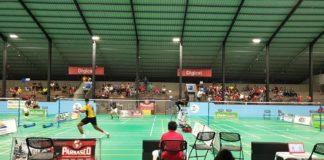 Internationaal badminton toernooi in Suriname