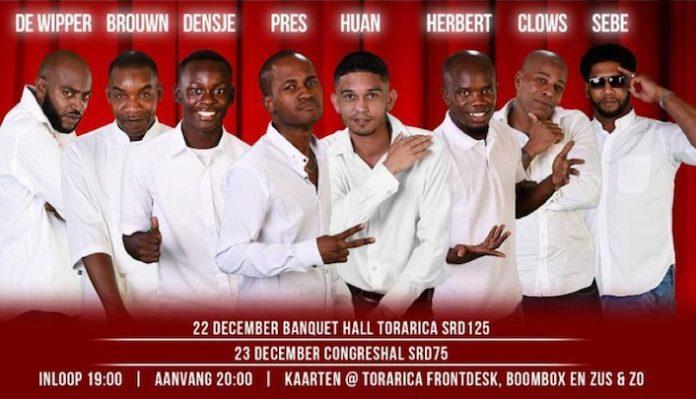 Eerste Big Comedy Jam met alleen artiesten uit Suriname