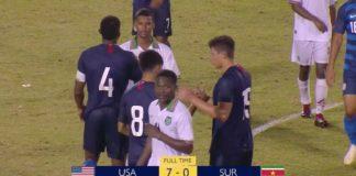Concacaf U20: Verenigde Staten maatje te groot voor Suriname