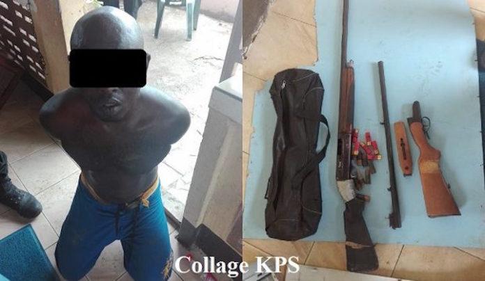 Politie Suriname laat foto zien van aangehouden 'topcrimineel'