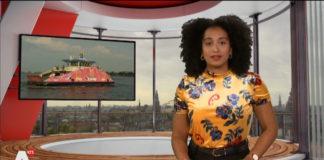 Evita Mac-nack (23) wordt presentator en redacteur bij NOS Jeugdjournaal