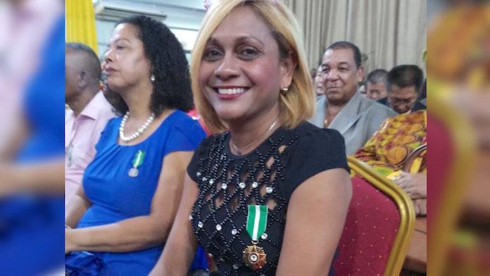 Decoratie voor Surinaamse journaliste Gail Eijk