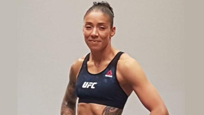 MMA vechter Germaine de Randamie wint bij terugkeer in de UFC