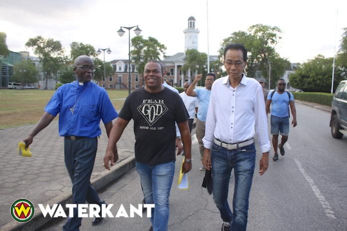 Loop christelijke organisaties in Suriname in verband met Hervormingsdag