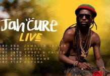 Concert Jah Cure tweede internationale reggaeshow in Suriname