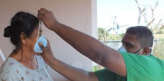 Kafverbranding in westelijk deel Suriname leidt tot rookoverlast