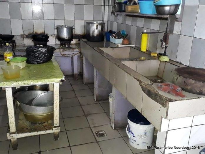 BOG Suriname sluit onhygiënische bar-restaurant in ressort centrum
