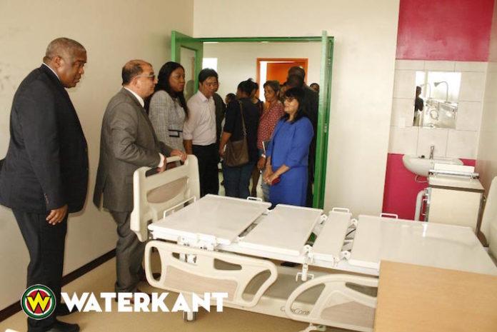 Renovatie 5de etage van het Academisch Ziekenhuis in Suriname afgerond