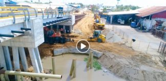 VIDEO: nieuwe brug over Saramaccakanaal in Suriname eind dit jaar af