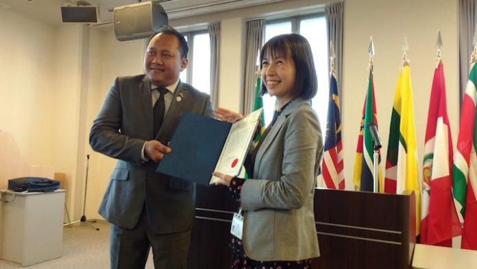 Surinamers volgen training in Japan m.b.t. duurzaam beheren bossen Suriname