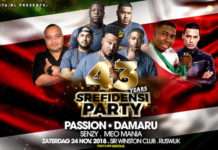 Srefidensi Party met PASSION en DAMARU uit Suriname