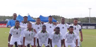 U-20 voetbalselectie Suriname wint met 2-0 van Trinidad & Tobago