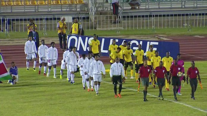 NATIO Suriname verliest met 2-1 van Jamaica in CONCACAF Nations League