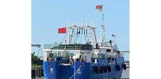 Zorgen parlementariërs om Chinese mega vissersboten in wateren Suriname