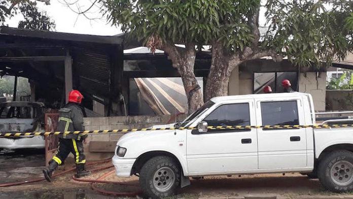 Dode en gewonden bij woningbrand in Suriname