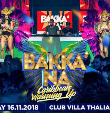 Owru Yari Bakka'Na Warming-Up vrijdag 16 november in Villa Thalia