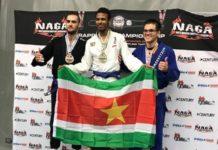 Shaquille van Zichem wint Europees kampioenschap Brazilian Jiu Jitsu voor Suriname