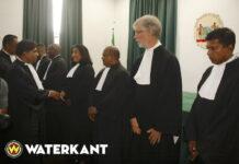 Beëdiging en toelating zeven nieuwe advocaten in Suriname