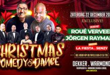 Christmas Comedy and Dance met Roué Verveer, Jörgen Raymann en La Fiesta