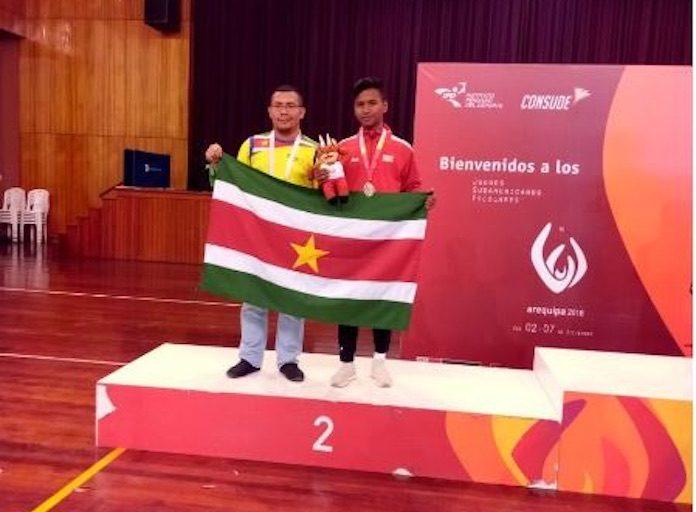 Suriname wint twee medailles op Consude games in Peru