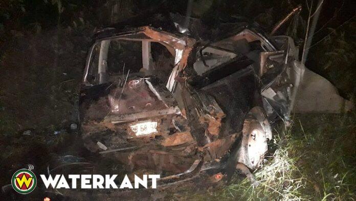 Dode bij verkeersongeval Krakaweg in Suriname