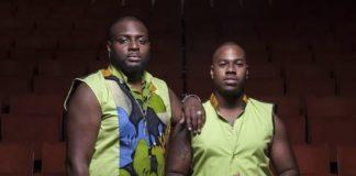 Orlando Ceder en Jamal Bijnoe van Black Harmony bij Voice of Holland auditions