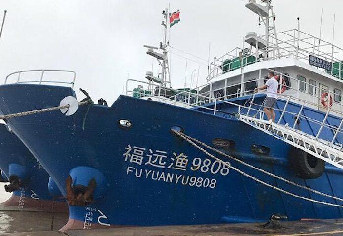 Zijn de Chinese hektrawlers toch al actief in Suriname?