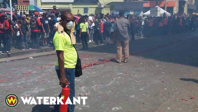 Pagara estafette in Suriname weer groot succes