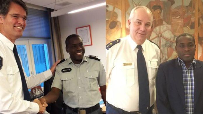 Waarnemend korpschef Suriname momenteel in Nederland
