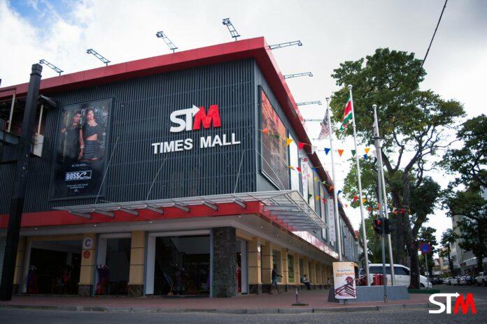 Veiling van Suriname Times Mall stopgezet