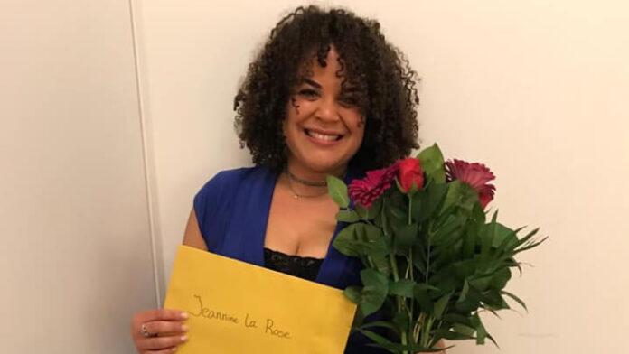 Jeannine La Rose wint Award voor 'Beste vrouwelijke bijrol' in 'The Color Purple'