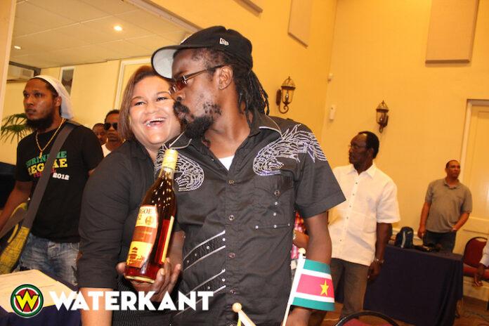 Beenie Man op Dancehall meets Urban feest van hotel Torarica in Suriname