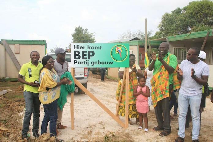 BEP start bouw nieuw partijcentrum in Suriname