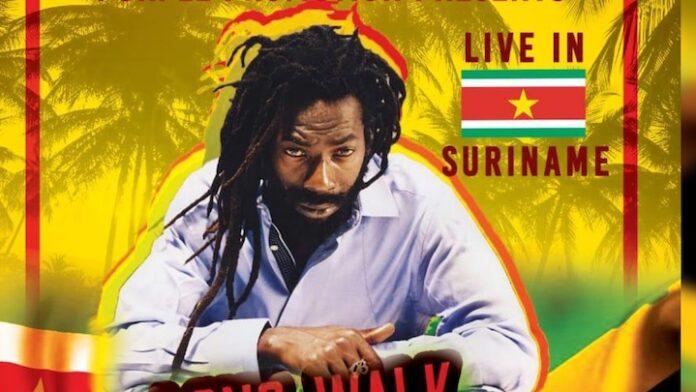 Buju Banton 4 mei 2019 live in Suriname