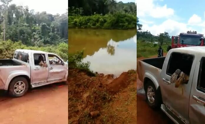 Collega's houtbedrijf Suriname omgekomen nadat auto in goud put terecht kwam