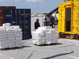 Telegraaf: 'Geen 2.344 kilo maar 4.850 kilo cocaïne in rijstcontainers Suriname'