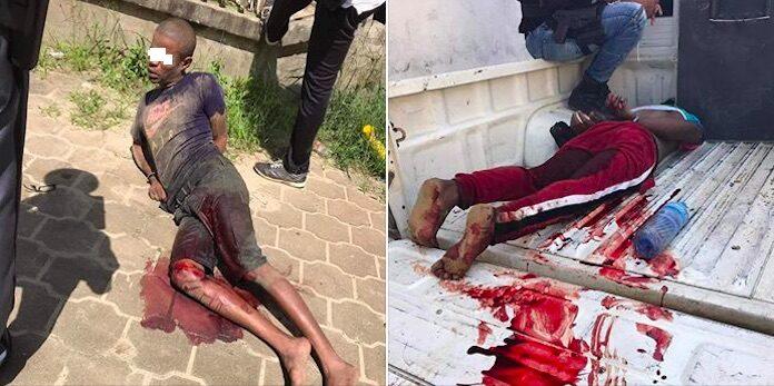 Deze twee inbrekers zijn door de politie in Suriname neergeschoten