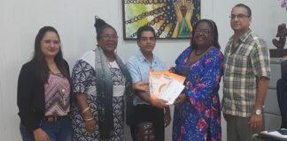 Directoraat Cultuur ontvangt Stichting Organisatie Hindoe Media Suriname