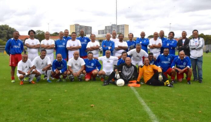 Team van oud-voetballers Suri Allstars maakt trip naar Suriname